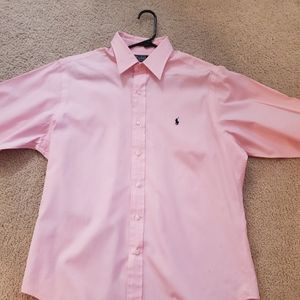 Pink Polo by Ralph Lauren Button Down